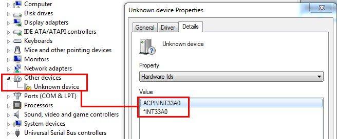 ACPIINT33A - ASUSfans RU