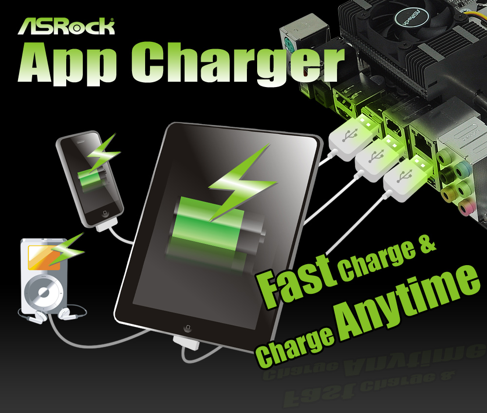 Asrock App Charger Hp Android