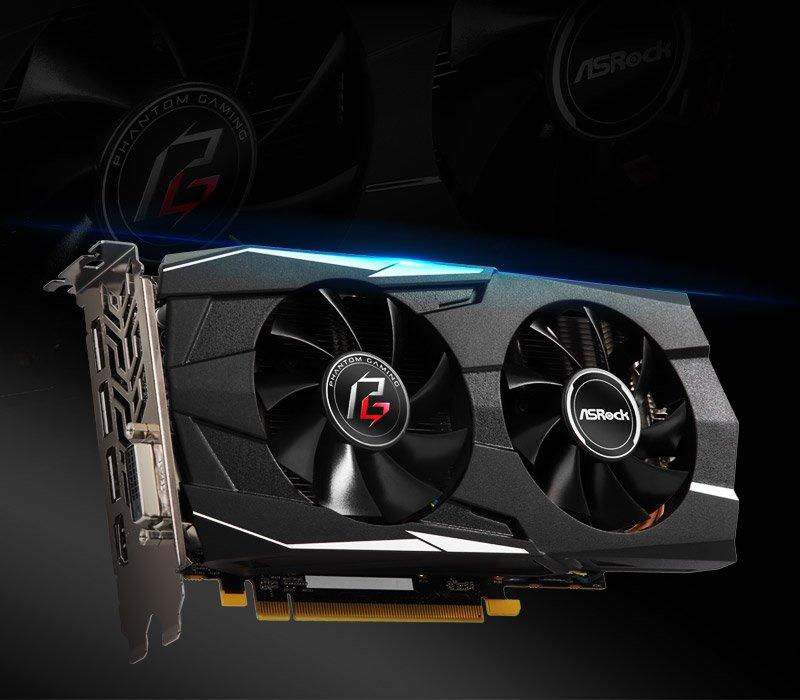 ASRock > Phantom Gaming D Radeon RX570 4G