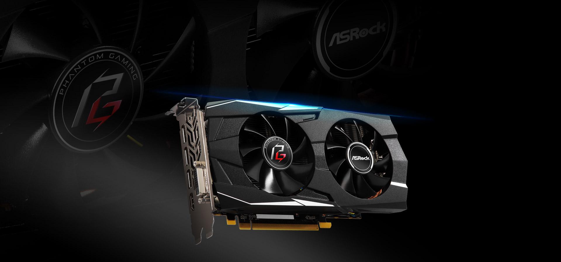 ASRock > Phantom Gaming D Radeon RX570 8G OC