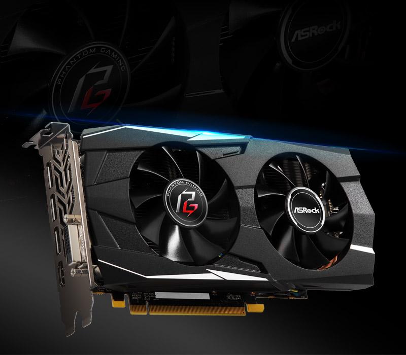 ASRock > Phantom Gaming D Radeon RX580 8G OC