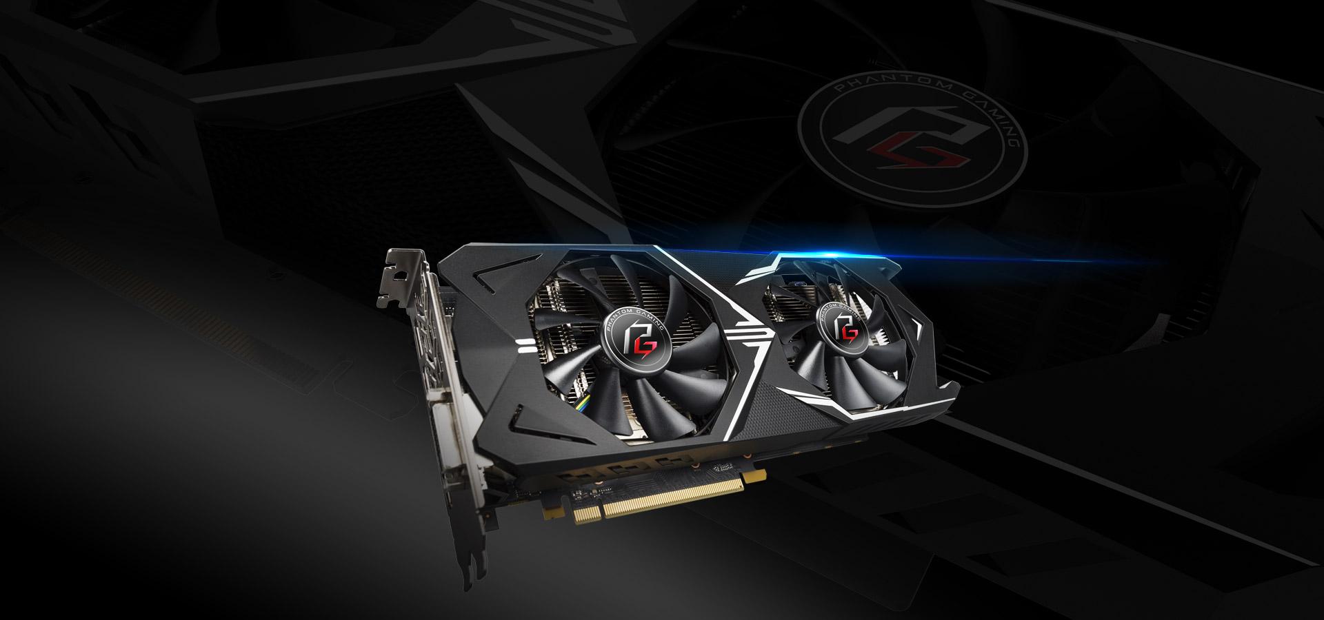 ASRock > Phantom Gaming X Radeon RX570 4G OC