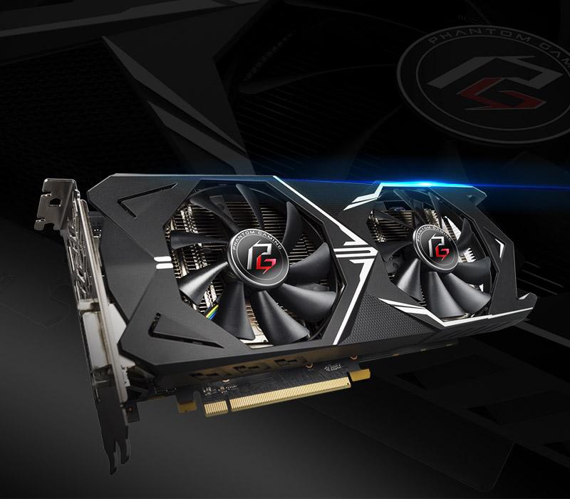 ASRock > Phantom Gaming X Radeon RX580 8G OC