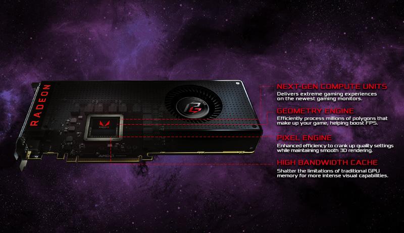 ASRock > Phantom Gaming X Radeon RX VEGA 56 8G