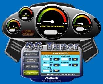 ASRock > OC Tuner