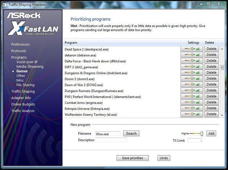 ASRock XFast LAN