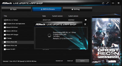 ASRock Live Update & App Shop