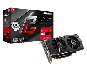 Phantom Gaming D Radeon RX570 8G OC