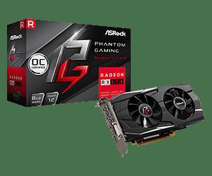 Phantom Gaming D Radeon RX570 8G OC