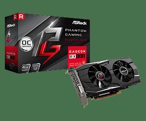 Phantom Gaming D Radeon RX580 4G OC