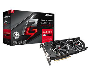 Phantom Gaming X Radeon RX570 4G OC