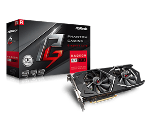 Phantom Gaming X Radeon RX570 8G OC