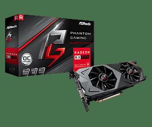 Phantom Gaming X Radeon RX590 8G OC