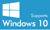 Supports Windows 10