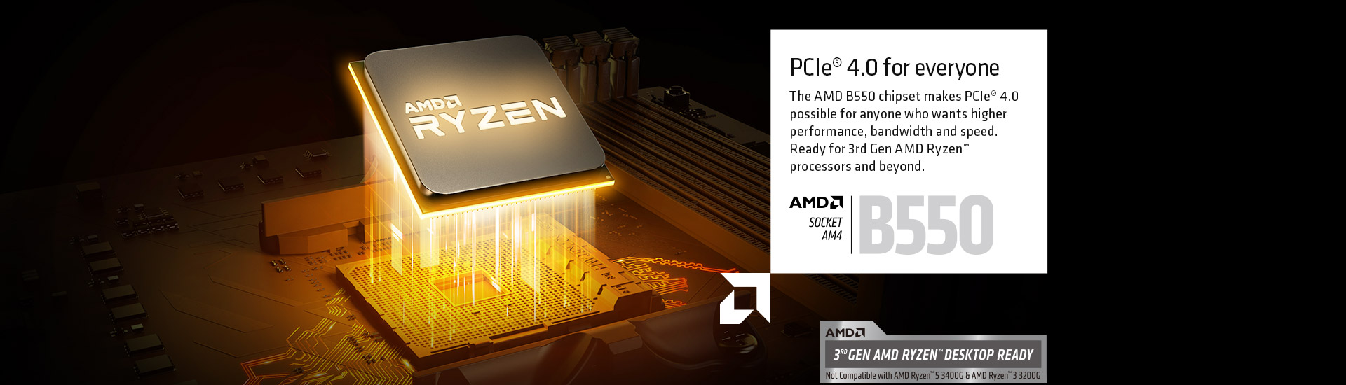 AMD Support PCIE 4