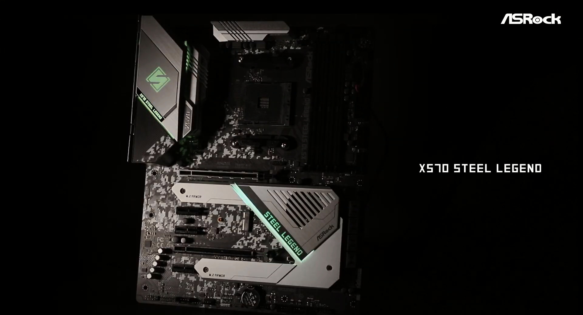 ASRock > X570 Steel Legend