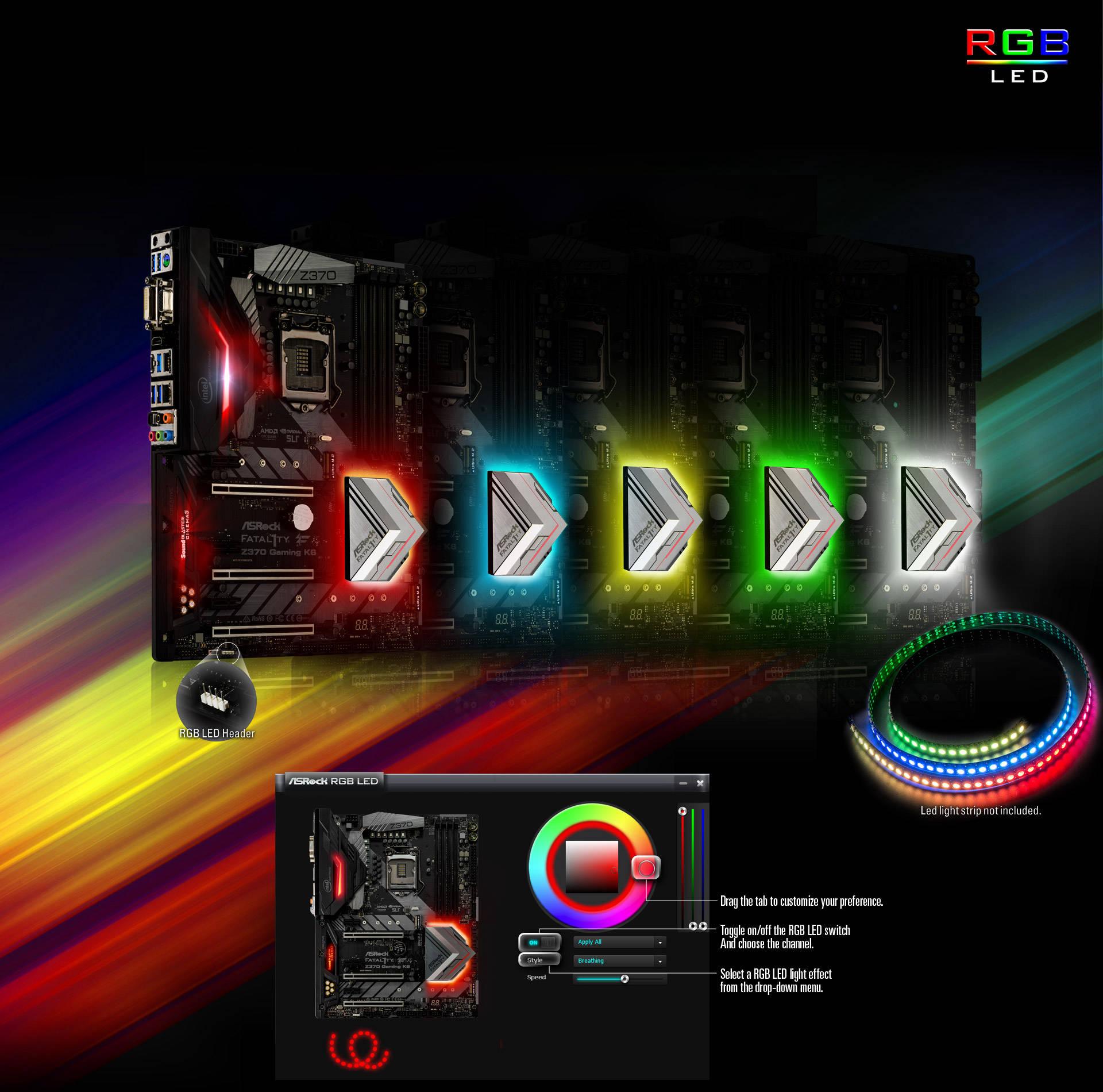 ASRock > Fatal1ty Z370 Gaming K6