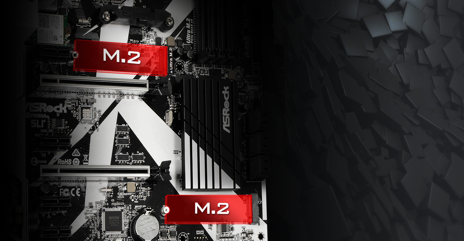 Asrock X370 Killer Sli 32153 Pcie Wi Fi Chip The Other One Supports Gen2 X2 10gb S Transfer Speed Both Of Them Support Sata3 6gb M2 Modules