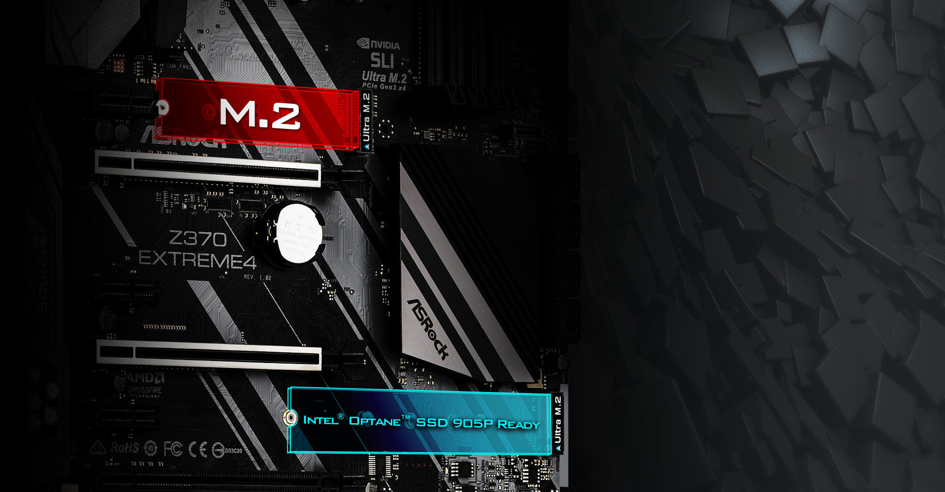 Asrock Z370 Extreme4 Extreme X8 Controller Wiring Diagram Two Of The Worlds Fastest Pcie Gen3 X4 Ultra M2 Slots That Deliver Up To 32gb S Transfer Speed It Also Supports Sata3 6gb Modules