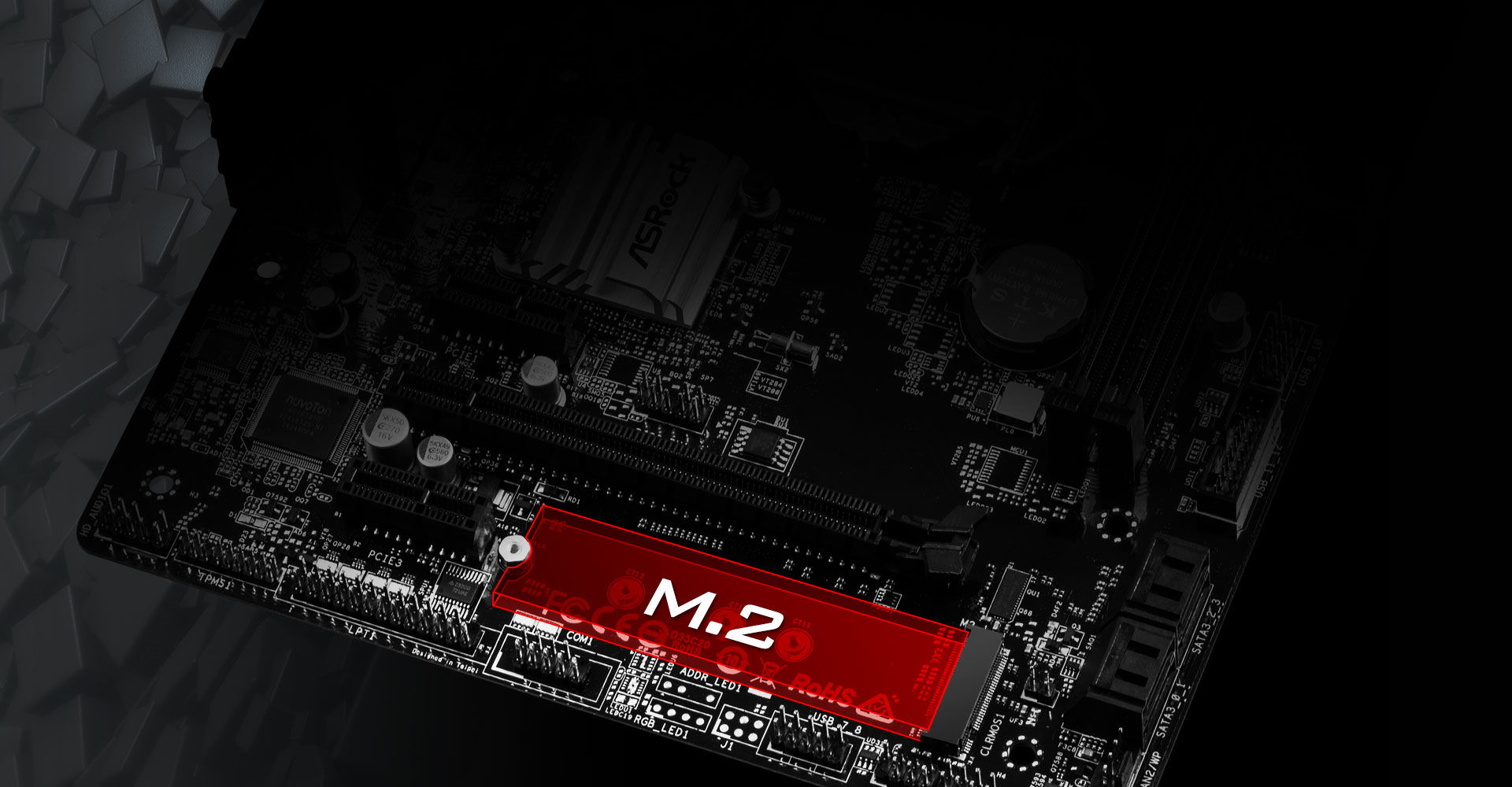 Asrock H310m Hdv M2 Motherboard H110m Ddr4 Socket 1151 In Addition It Also Supports Sata 3 6gb S Modules And Is Compatible With Asrocks U2 Kit For Installing Some Ssds