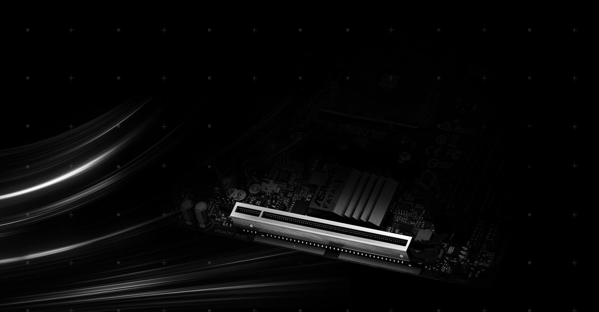 Asrock Fatal1ty B450 Gaming Itx Ac Hdmi To Usb Wiring Diagram The Advanced Pci E Steel Slots Packed With Solid Cover That Prevent Any Signal Interference Graphics Cards It Also Ensures Heavy