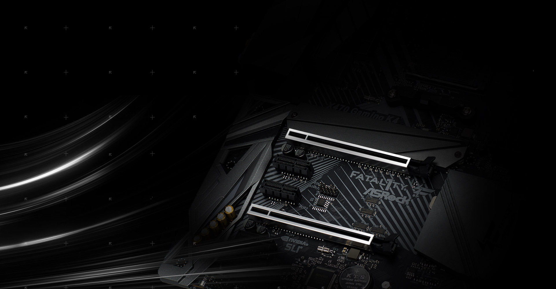Asrock Fatal1ty X470 Gaming K4 Stereo Plug Wiring Diagram In Addition Headphone Jack The Advanced Pci E Steel Slot Packed With Solid Cover That Prevent Any Signal Interference Graphics Cards It Also Ensures Heavy To