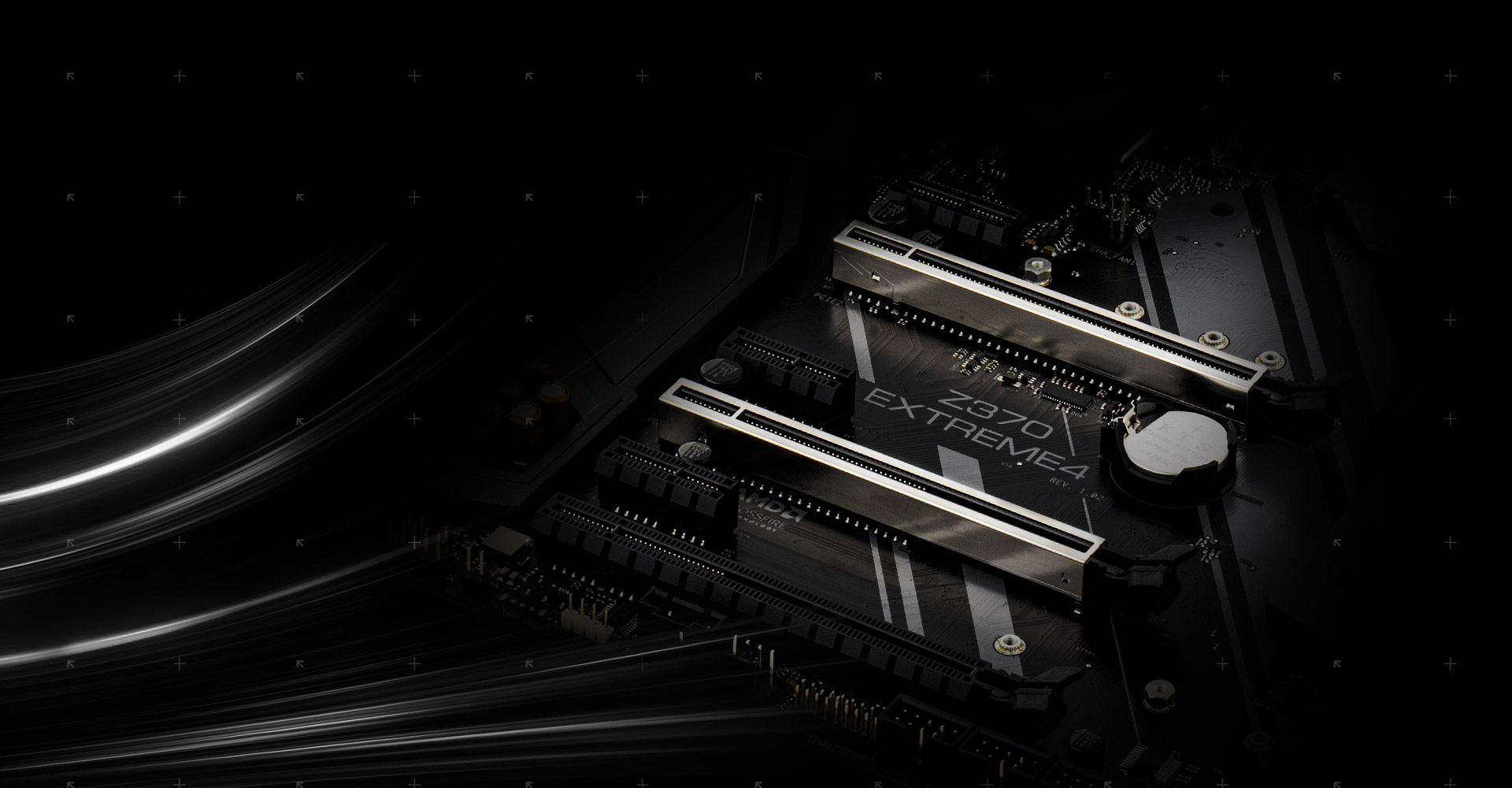Asrock Z370 Extreme4 Wiring Diagram Walk In Cooler The Advanced Pci E Steel Slots Packed With Solid Cover That Prevent Any Signal Interference Graphics Cards It Also Ensures Heavy To