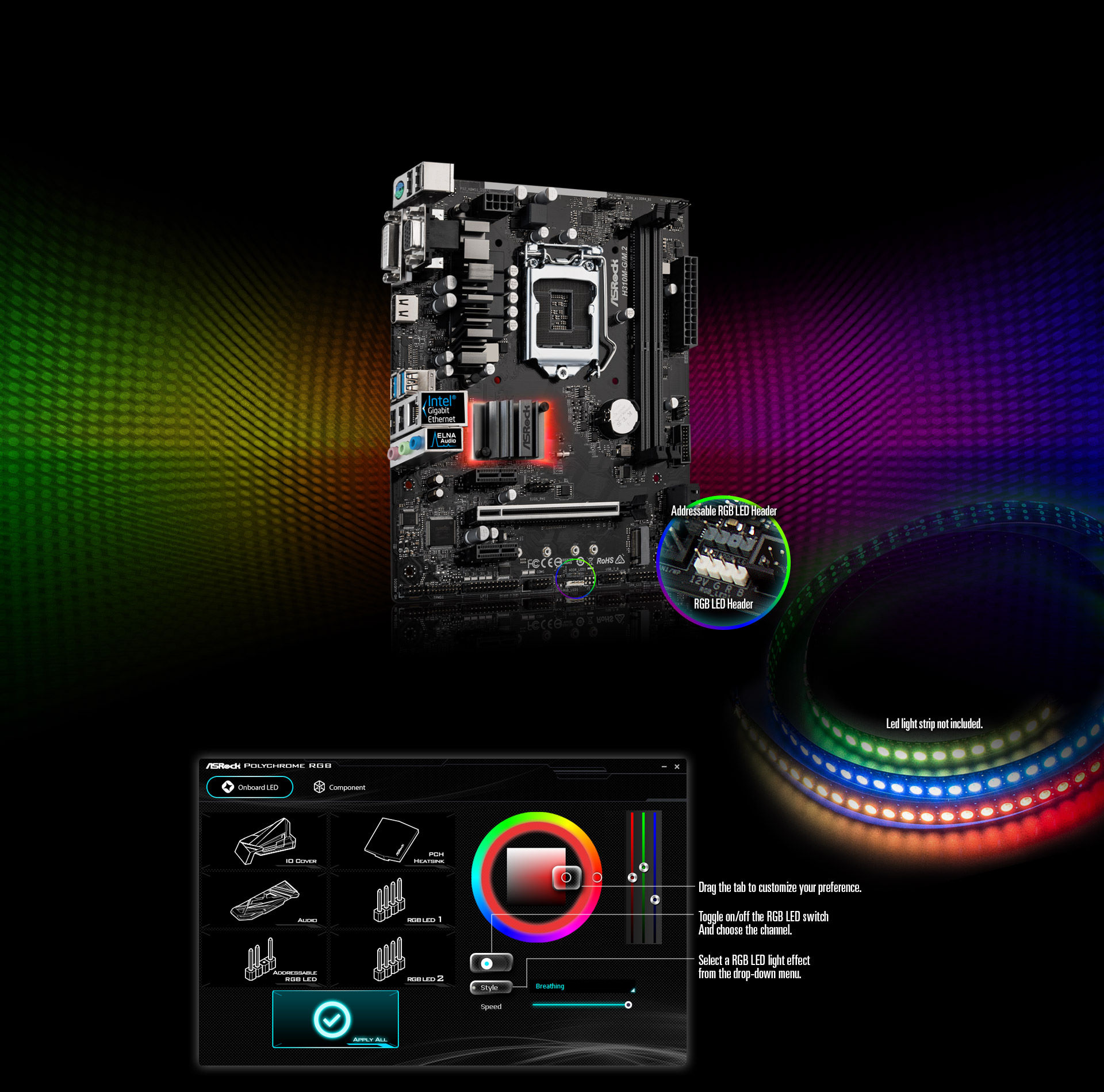 asrock rgb led