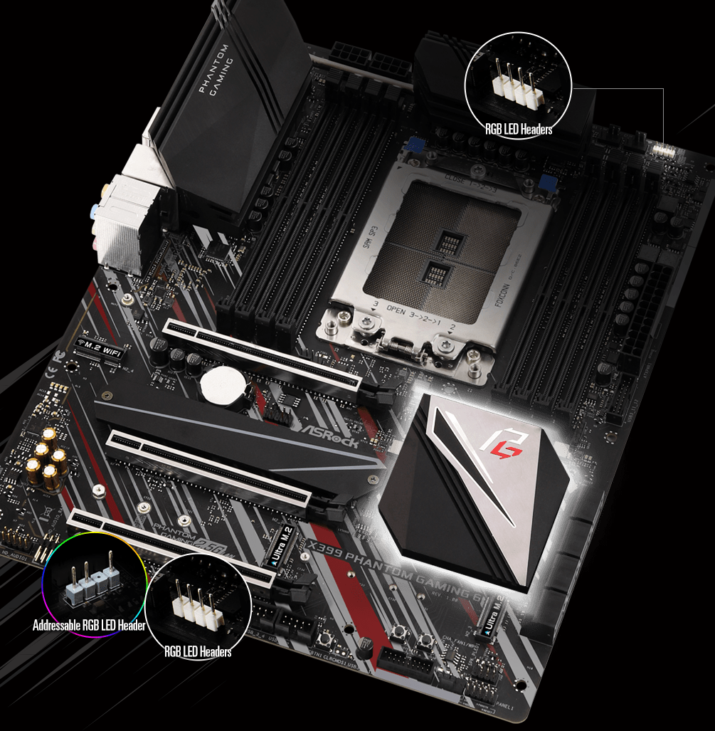 ASRock > X399 Phantom Gaming 6