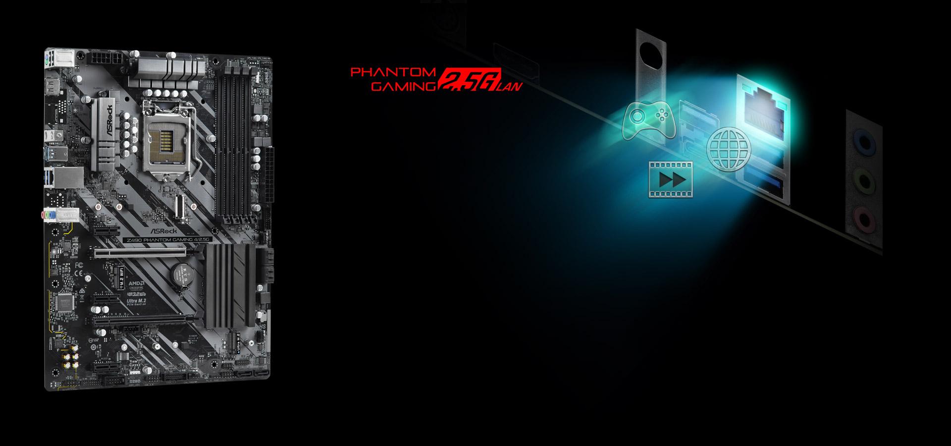 ASRock > Z490 Phantom Gaming 4/2.5G
