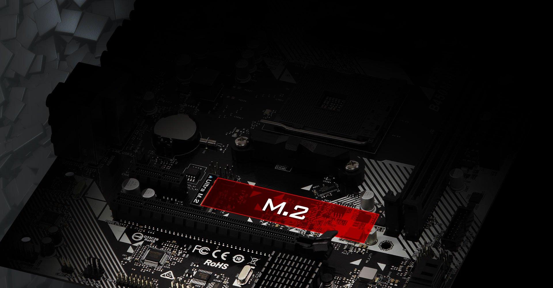 ASRock B450M-HDV R4.0 Socket AM4// AMD Promontory B450// DDR4// SATA3/&USB3.1// M.2// A/&GbE//MicroATX Motherboard