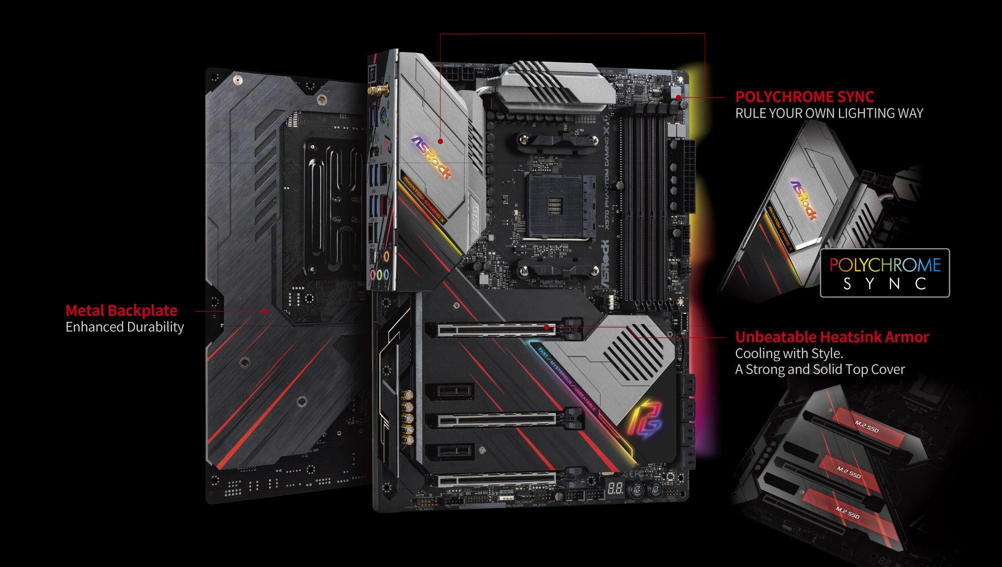 Kết quả hình ảnh cho ASROCK X570 Phantom Gaming X