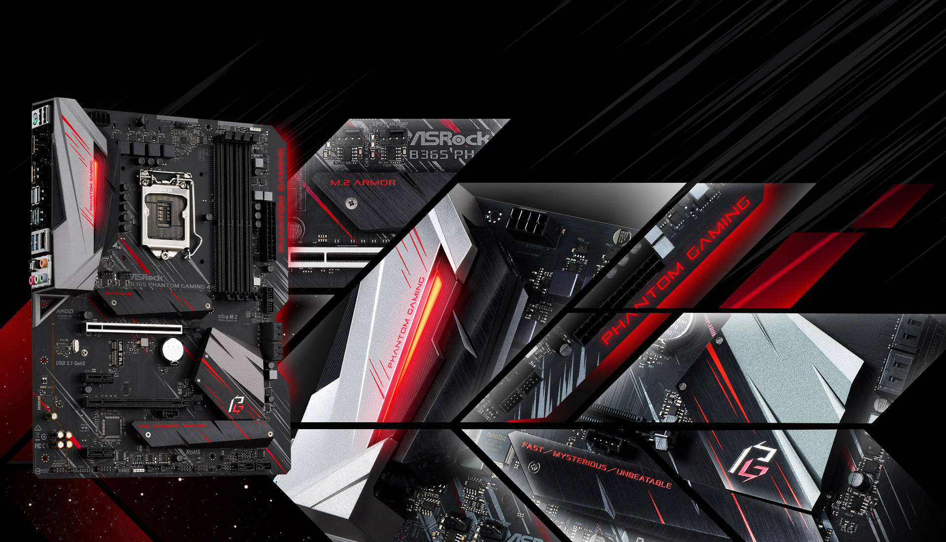 ASRock > B365 Phantom Gaming 4