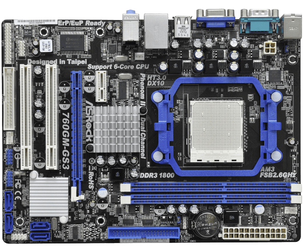 Asrock 760GM-GS3 AMD All-in-1 64 BIT Driver