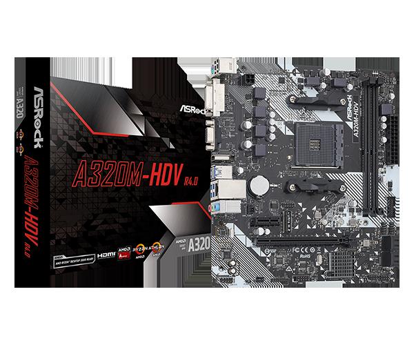 ASRock > A320M-HDV