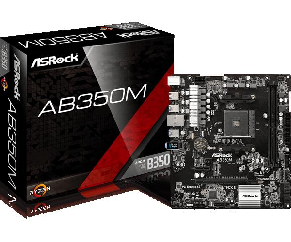 ASRock > AB350M