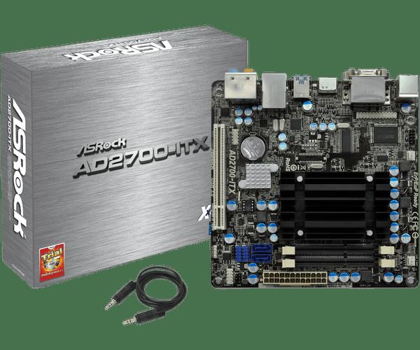 ASROCK AD2700-ITX DRIVERS WINDOWS 7 (2019)