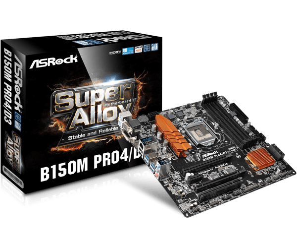 ASROCK B150 PRO4D3 DRIVER FOR WINDOWS DOWNLOAD