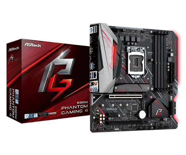 ASRock > B365M Phantom Gaming 4