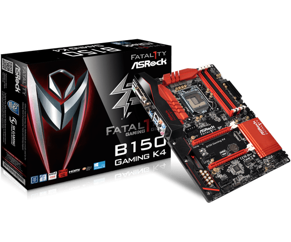 ASRock > Fatal1ty B150 Gaming K4
