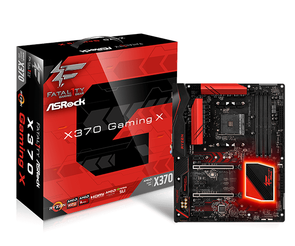 ASRock > Fatal1ty X370 Gaming X