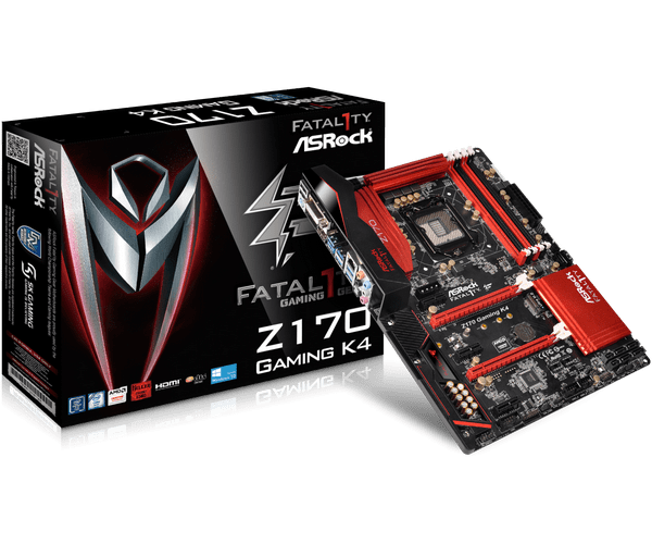 ASRock Fatal1ty Z170 Gaming K4 Intel RST Drivers Windows 7