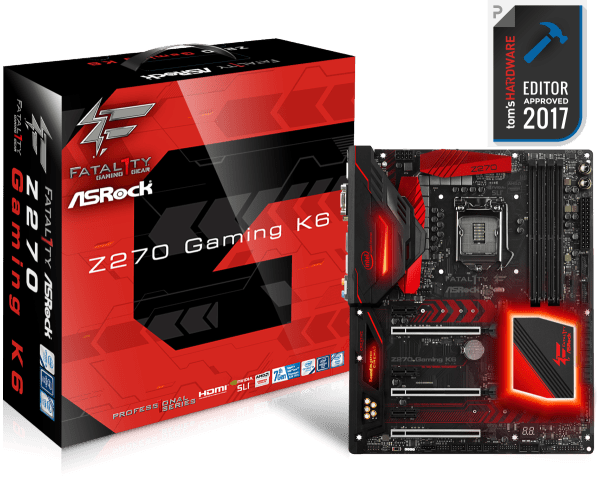 ASRock Fatal1ty Z270 Gaming K6 Drivers Mac
