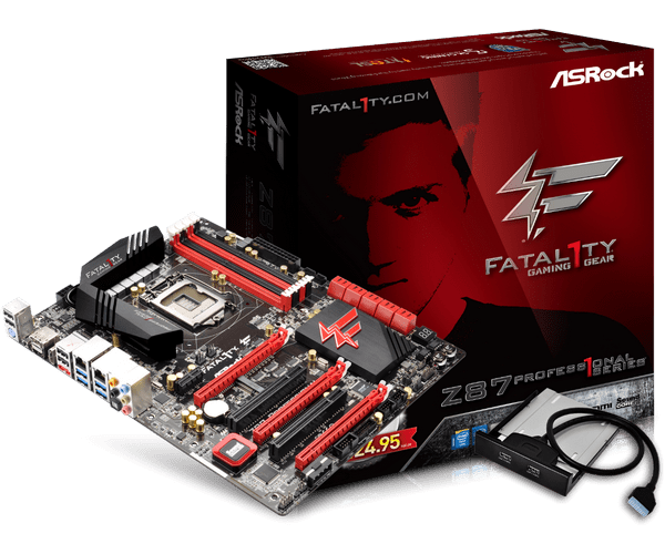 ASRock Fatal1ty Z87 Professional Motherboard Drivers for Windows XP