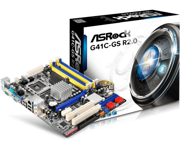 DOWNLOAD DRIVER: ASROCK G41C-GS INTEL