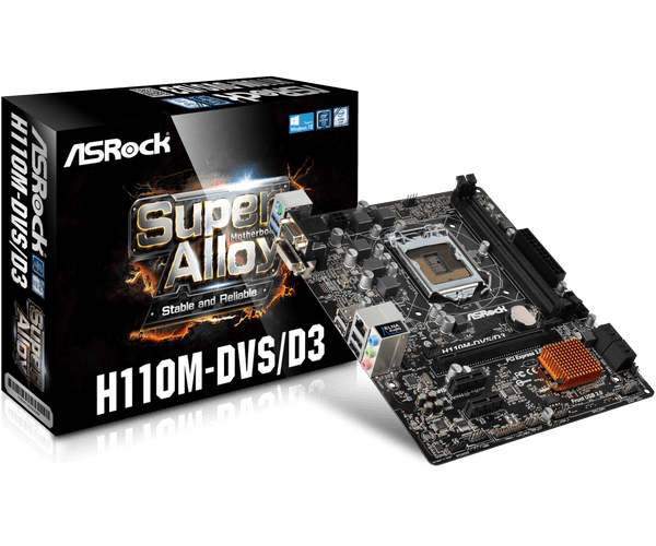 ASROCK H110M-DVS/D3 MOTHERBOARD WINDOWS 8 DRIVER DOWNLOAD