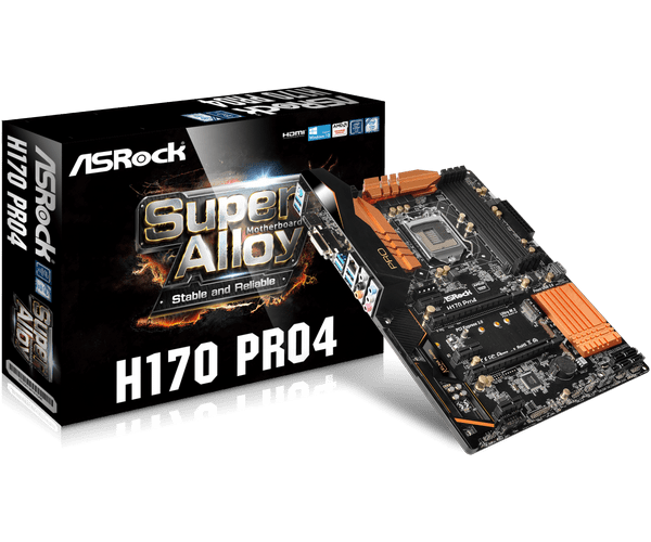 ASRock H170 Pro4/D3 Intel RST Drivers Windows