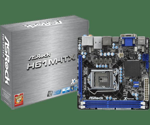 ASRock > H61M-ITX
