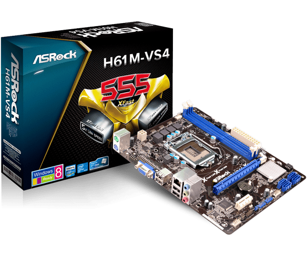 Asrock H61M-VS VIA Driver for Windows 7