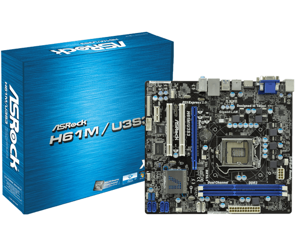 Asrock H61M/U3S3 ASMedia Drivers Windows XP